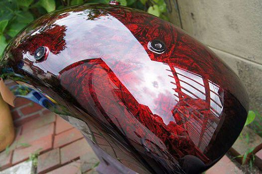 H-D Rear Fender [Wrap-Paint] Custom paint image