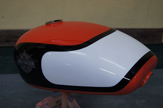 H-D XLH TANK [Solid 3 Colors] Custom paint image