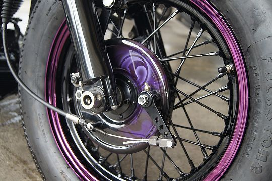 H-D Wheel [Front Drum Brake] Custom paint image