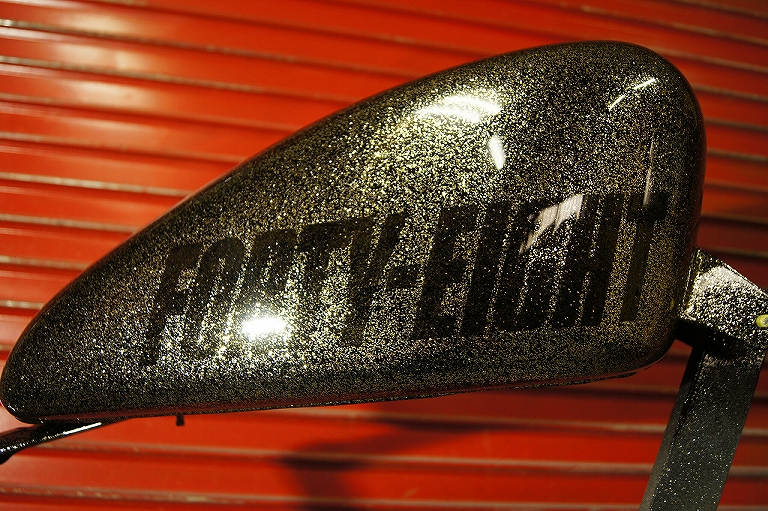 H-D FORTY-EIGHT Tank [Blend Flakes] Custom paint image