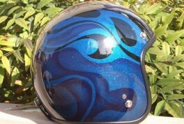 JET-HELMET [Blue Graphics]