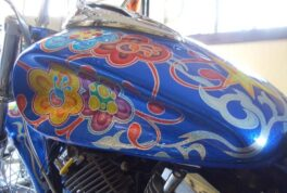 YAMAHA DRAGSTAR400 [Flower Graphics]