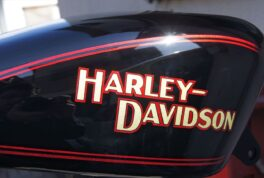 H-D SportSter Tank [AMF-Style Harley logo]