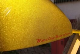 H-D SportSter Tank [Candy-Gold] thumbnail image