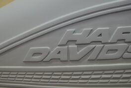 M-117  H-D SportSter Tank [Harley Logo Relief] thumbnail image