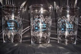 Birthday Gift Glass [SandBlast]