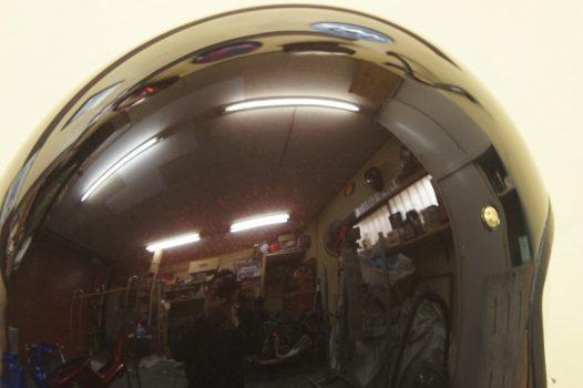 カスタムペイント工程 SHOEI J.Oの画像