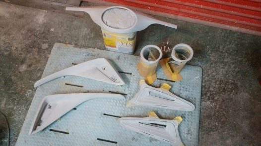 カスタムペイント工程 TOYOTA C-HRの画像