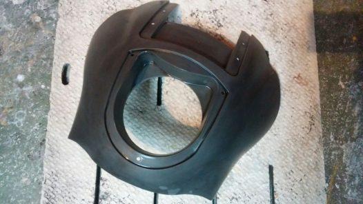 カスタムペイント工程 サンズオブアナーキー クォーター フェアリングの画像
