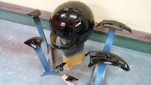 カスタムペイント工程 アライ RX-7Xの画像