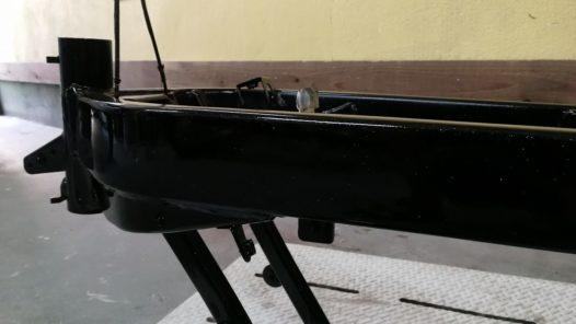 カスタムペイント工程 ホンダ NSR50フレームの画像