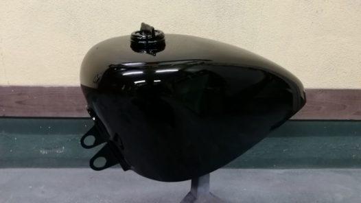 カスタムペイント工程 '98XL1200S レインボーの画像