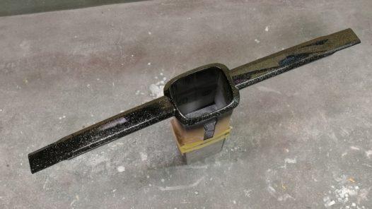 ペイント工程 N-VAN フロントグリルの画像